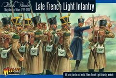Warlod Games BLACK POWDER Napoleonic War Late French Light Infantry