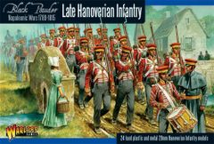 Warlord Games BLACK POWDER Napoleonic Hanoverian Line Infantry Regiment plastic boxed set