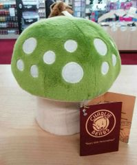 NEW 2019 Charlie Bears GREEN TOADSTOOL For Fables Display 16cm