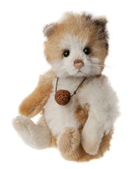 SPECIAL OFFER! Charlie Bears Minimo ROCKY Guinea Pig 18cm (Limited to 2000 Worldwide)