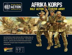 Warlord Games BOLT ACTION Afrika Korps Starter Army