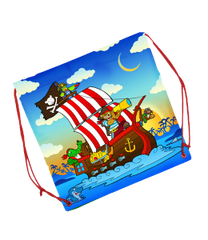 TEDDY MOUNTAIN Pirate Adventure Backpack Style Gift Bag