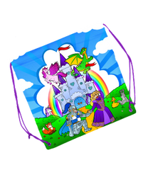 TEDDY MOUNTAIN Castle Fantasy Backpack Style Gift Bag