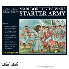 Warlord Games BLACK POWDER Marlborough's Wars Starter Army