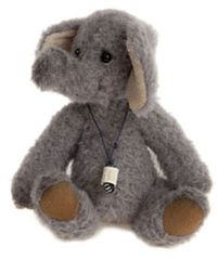 SPECIAL OFFER! Charlie Bears Minimo CORNET Elephant 17cm (LImited to 2000 Worldwide)