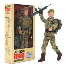 NEW! ACTION MAN Deluxe Action Soldier