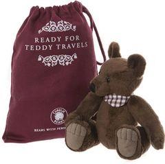 2019 Charlie Bears GALLIVANT Travel Bear 18cm with Gift Bag