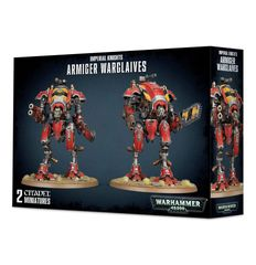 NEW! Warhammer 40k Imperial Knights ARMIGER WARGLAIVES