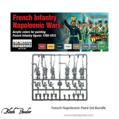 Warlord Games BLACK POWDER French Napoleonic paint set (8) with plastic French