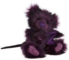 HALF PRICE! 2017 Charlie Bears BRAT Rat Halloween Collection