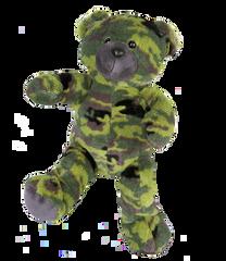 TEDDY MOUNTAIN Build A Bear Pack Large G.I.Camo Bear