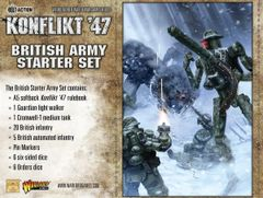 Warlord Games KONFLIKT 47 British Konflikt '47 Starter Set