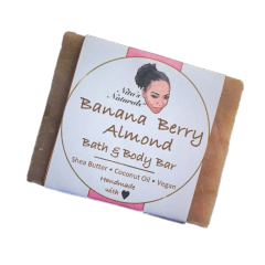 Bath Bar - Banana Berry Almond