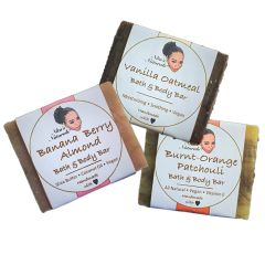 Natural Handmade Soap Trio