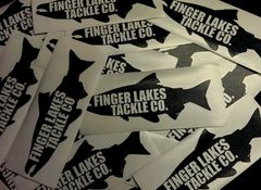 Finger Lakes Tackle Stickers