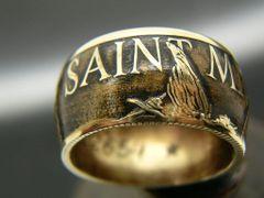 St. Michael, Law Enforcement Coin Ring