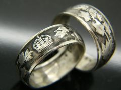 Foreign Coin Rings | Bungalow-D Coin Rings