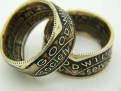 NA Narcotics Anonymous Coin Ring