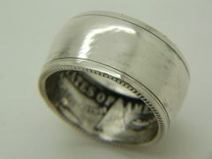 Polished Morgan Silver Dollar