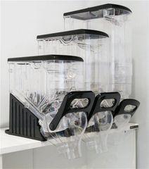 Retail Food Dispensers - Standard 8 Liter / 2.1 Gallon Capacity. Customer can upgrade to 13 Liter /3.4 Gallon or 19 Liter / 5 Gallon Capacity