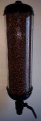 Glossy Black or Matte Black Powder Coat Option Dispenser. 3 different size tube lengths (18, 24 or 36 inch tube lengths)