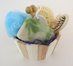 Kaolin Clay & Pumice Soap Gift Basket