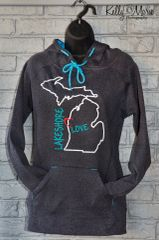Lakeshore Love Hoody (Onyx Grey)