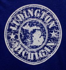 Stamp Long Sleeve Tee (Navy Triblend)