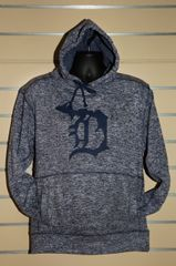 Detroit Michigan D Sweatshirt (Navy Fleck)