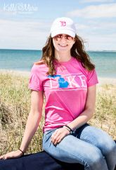 Lake Michigan Tee (Hot Pink)