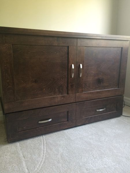 Country Style Cabinet Bed Ontario Cabinet Bed