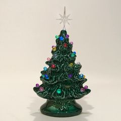 "6"" Green with Multi Lights - Extra Small Christmas Tree"