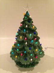 "19 inch ""Puffy"" Christmas Tree"