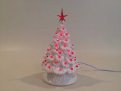 11 inch Small White Christmas Tree