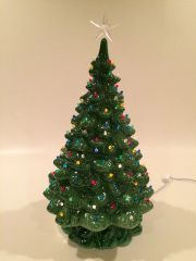 21 inch Large Green Christmas Tree