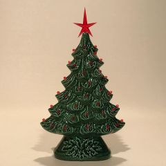 10 inch Green Window Christmas Tree