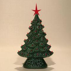 10 inch Green Window Christmas Tree