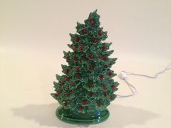 11 inch Holly Christmas Tree