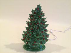 11 inch Holly Christmas Tree