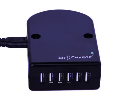 SNC A 1 UL Listed Commercial Cell Phone Charger - 6 Port CE Approved
