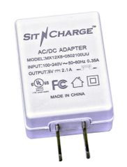 Single UL approved 2.1A charger