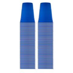 Blue Solo Cup Cold Plastic Party Cups 16 Ounce 100 Pack