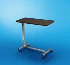 Ridex Non Tilt Top Overbed Table, Chrome
