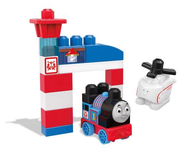 Mega Bloks Thomas & Friends - Thomas and Harold Rescue Building Set