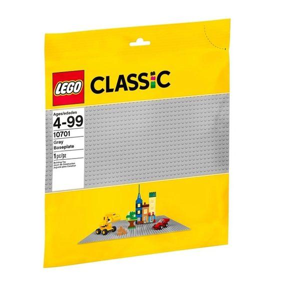 Lego Classic Grey Baseplate 10701