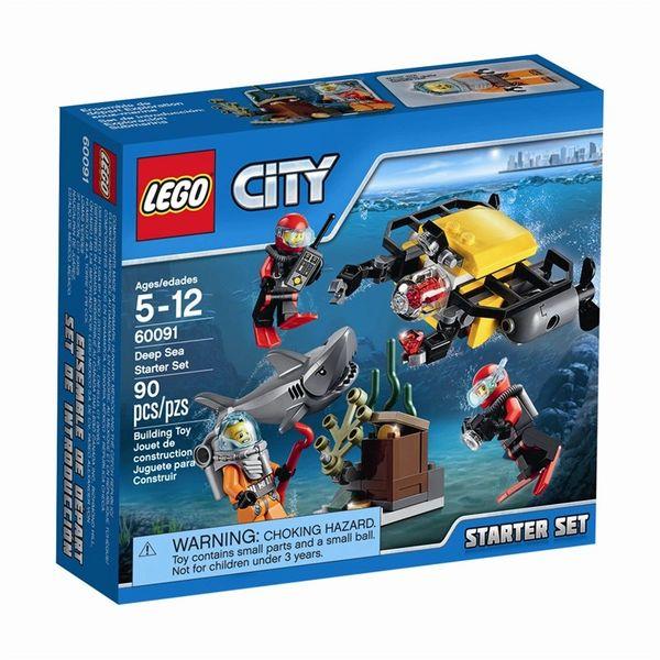 Lego CIty Deep Sea Starter Set 60091