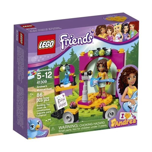 Lego Friends- Andrea's Musical Duet 41309