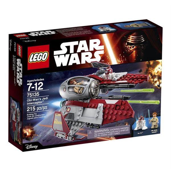 Lego: Star Wars - Obi-Wan's Jedi Interceptor 75135