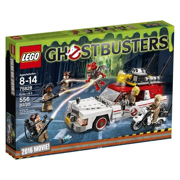 Lego Ghostbusters Ecto 1 And 2 (2016 Movie Edition) 75828