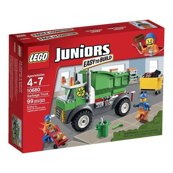 Lego Juniors Garbage Truck 10680